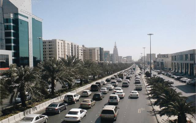 مدينة الرياض بالمملكة العربية السعودية
