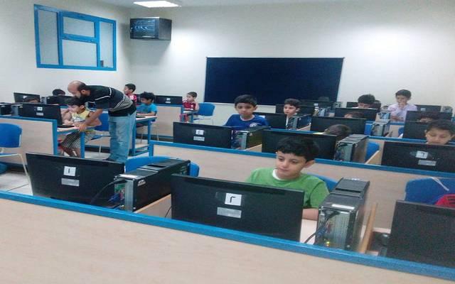 إحدى المدارس التابعة لشركة عطاء التعليمية
