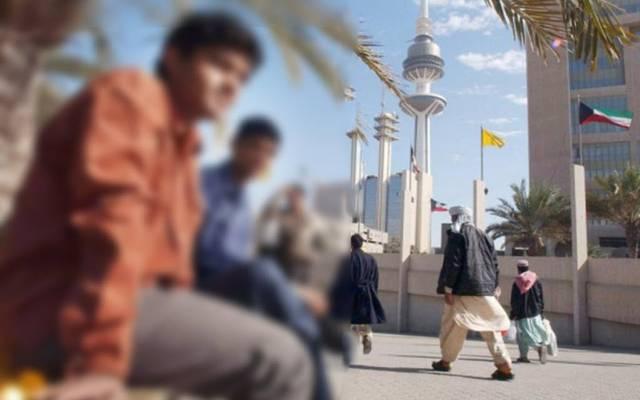 أحد شوارع الكويت