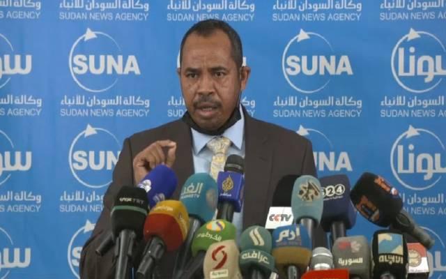 الناطق الرسمي بإسم الحكومة السودانية حمزة بلول وزير الثقافة والإعلام