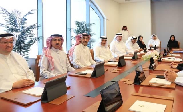 جانب من اجتماع جهاز المساحة والتسجيل العقاري البحريني خلال تدشين النظام الجديد