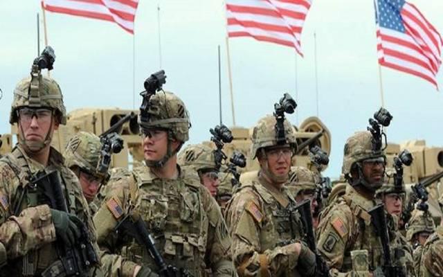 القوات الأمريكية المشاركة بالتحالف