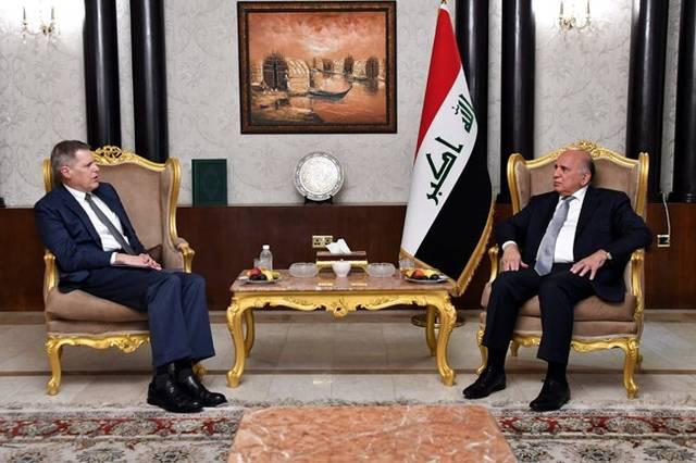 وزير الخارجيّة يلتقي السفير الأمريكيّ لدى العراق