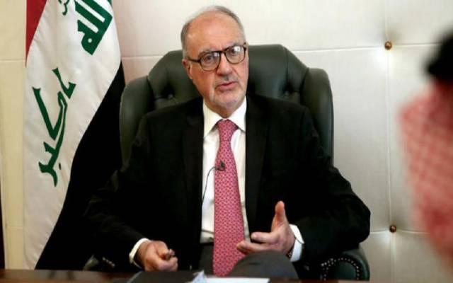 """الوزير خلال الحوار مع """"الشرق الأوسط"""""""