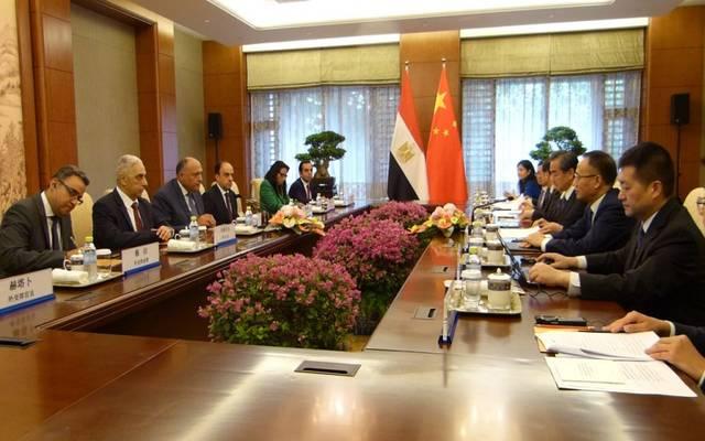 الحكومة المصرية طلبت من الصين تسهيل نفاذ الصادرات المصرية إلى السوق الصينية، وكذا رغبتها في تشجيع حركة السياحة
