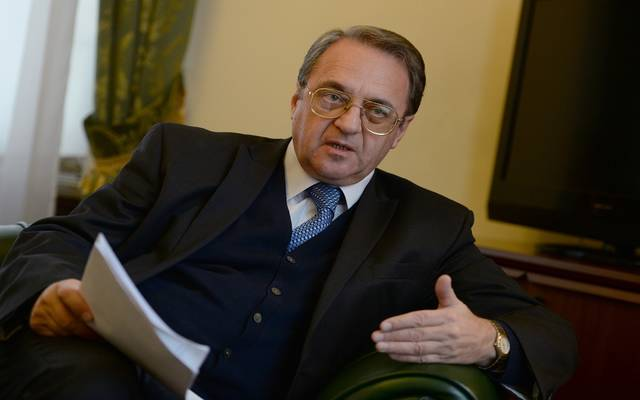 نائب وزير الخارجية الروسي ميخائيل بوجدانوف