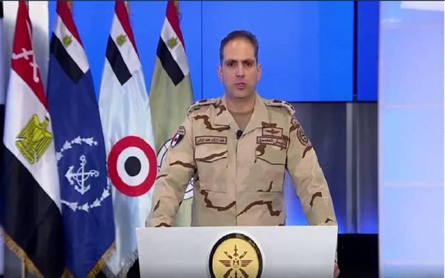 المتحدث العسكري المصري، العقيد تامر الرفاعي