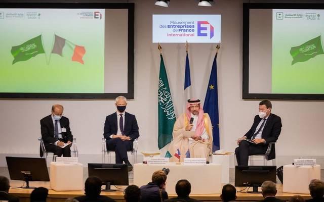 جانب من أعمال المنتدي السعودي الفرنسي