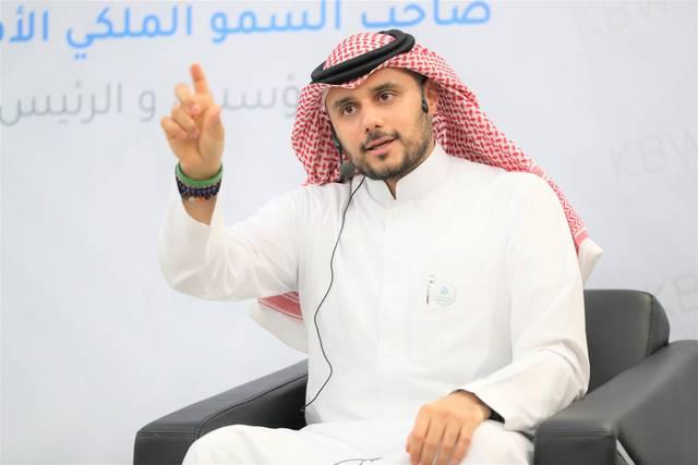 """الأمير خالد بن الوليد بن طلال آل سعود المؤسس والرئيس التنفيذي لشركة """"كي بي دبليو فينتشرز"""""""