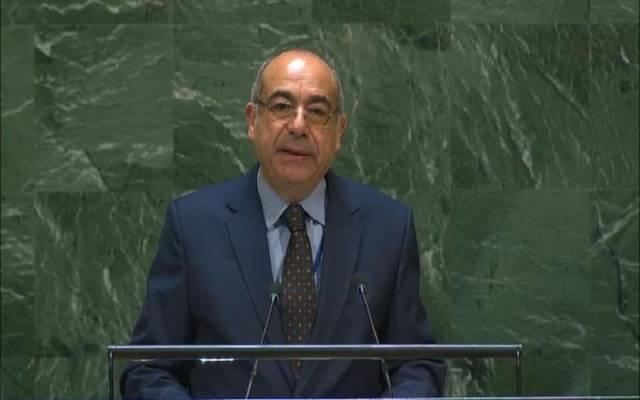 السفير محمد إدريس، مندوب مصر الدائم في نيويورك