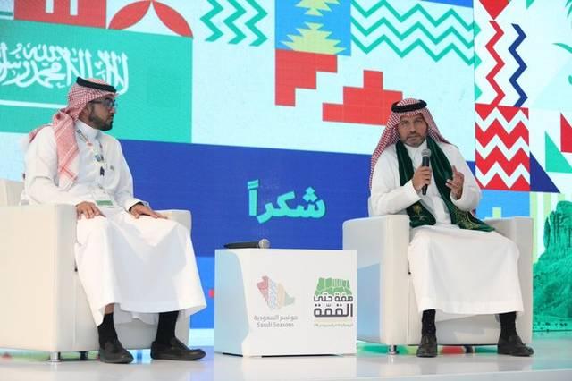 الرئيس التنفيذي للهيئة العامة للترفيه بالسعودية عمر باناجه خلال أحد الفعاليات بالرياض - أرشيفية