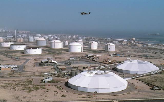 منطقة استخراج النفط