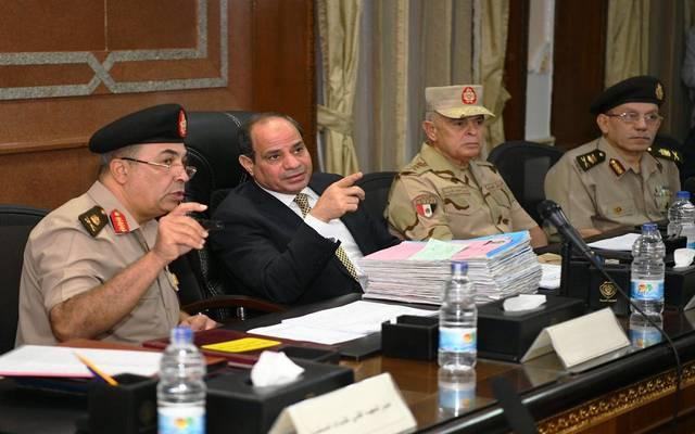 الرئيس عبدالفتاح السيسي يتابع اختبارات الكلية الحربية