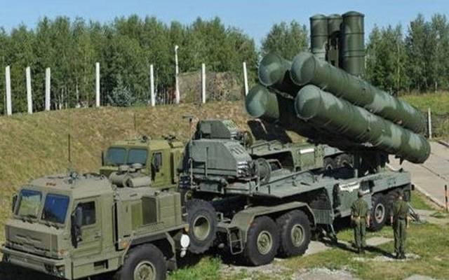 منظومة إس 400 الصاروخية الروسية