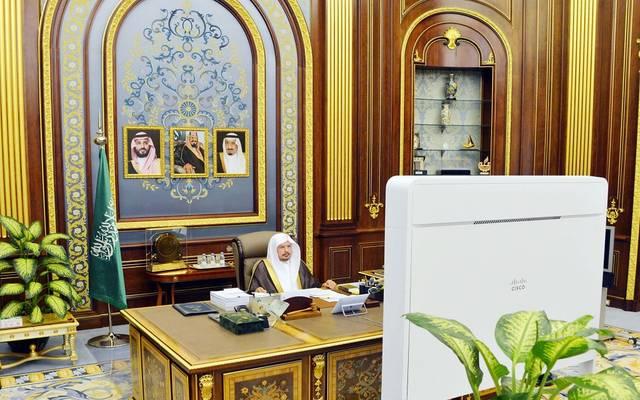 رئيس مجلس الشورى، عبدالله آل الشيخ، خلال الجلسة العادية الـ50 للسنة الرابعة من الدورة السابعة