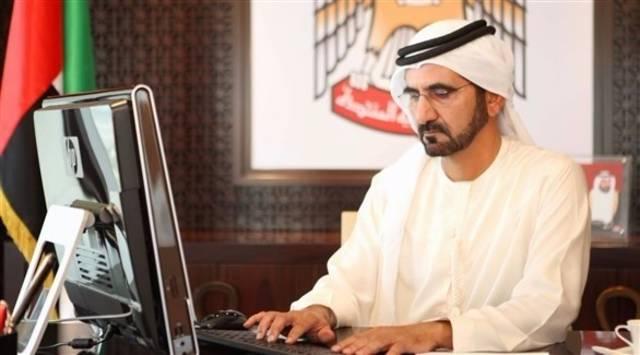 محمد بن راشد يتفاعل مع مكالمة هاتفية من مواطن