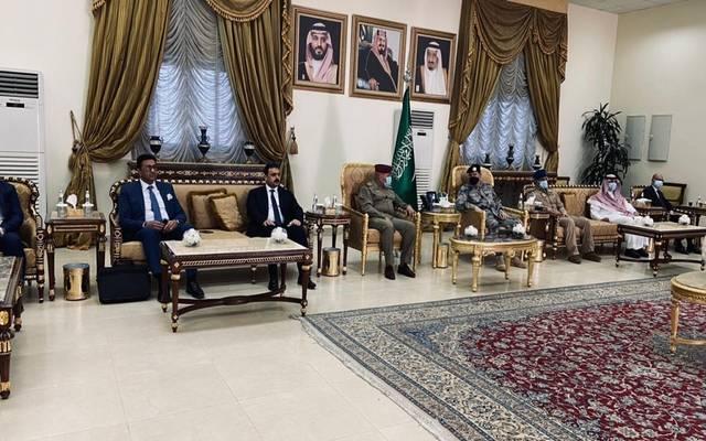 وفد عراقي يبحث في السعودية تأمين طريق عرعر وإزالة معوقات التبادل التجاري