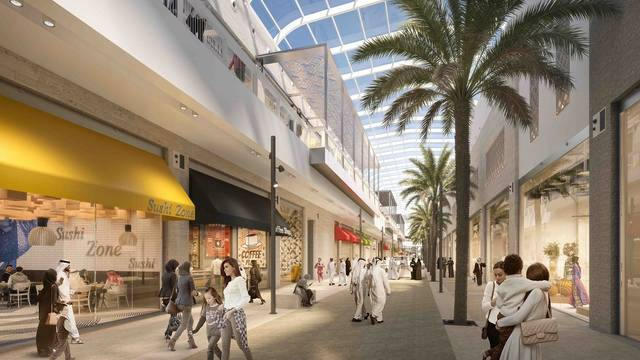 The mall is located in the heart of Sabah Al Ahmad Sea City