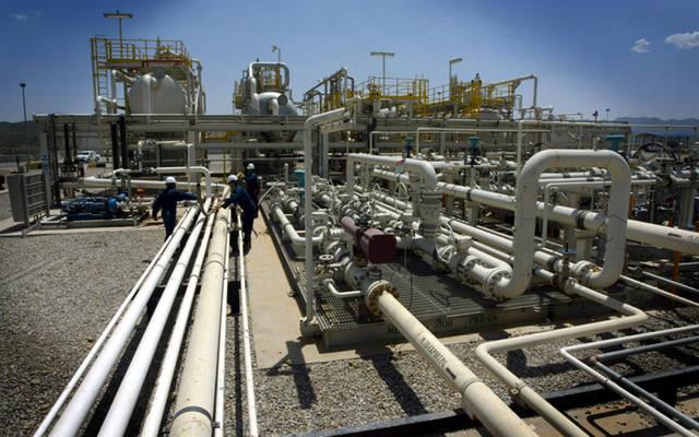 خطوط ضخ الغاز الطبيعي المسال