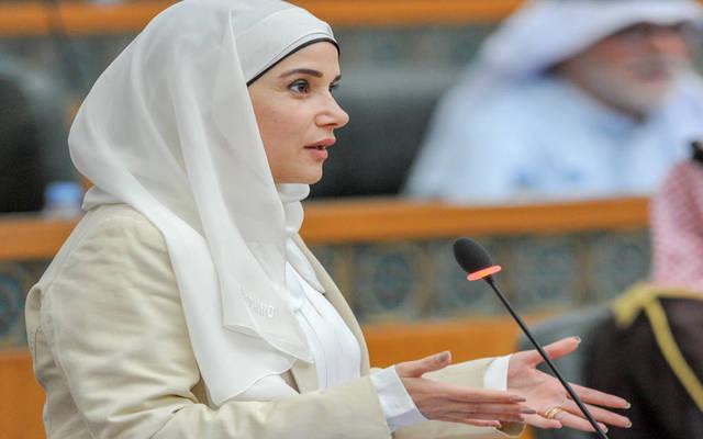 وزيرة الأشغال العامة ووزيرة الدولة لشؤون الإسكان الكويتية، جنان رمضان بوشهري