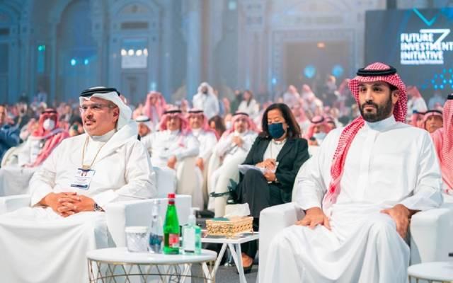 جانب من فعاليات منتدى مبادرة مستقبل الاستثمار