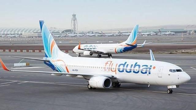 طائرة تابعة لشركة فلاي دبي