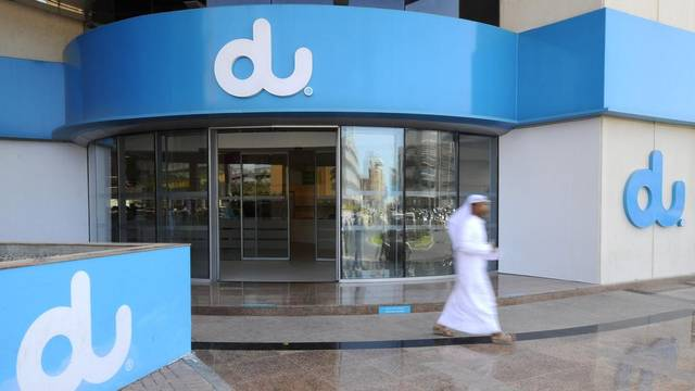 Du's infrastructure investments amounted to about AED 1.3 billion in 2018