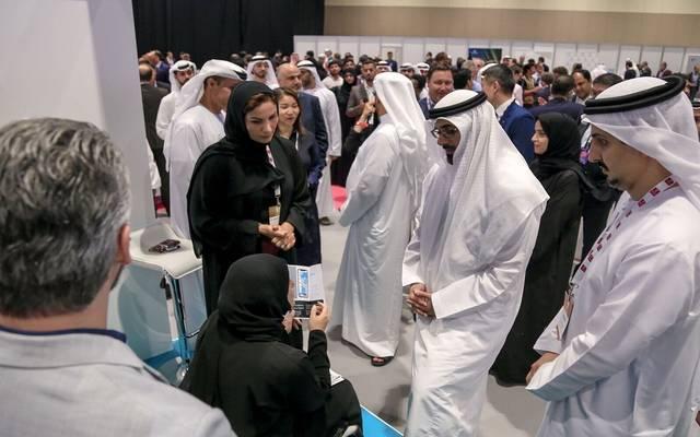 جانب من الحضور في فيتنك أبوظبي 2019