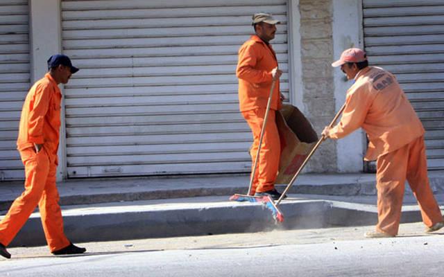 عمال النظافة والتجميل