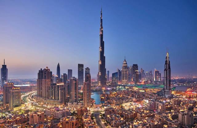 أحد معالم دولة الإمارات