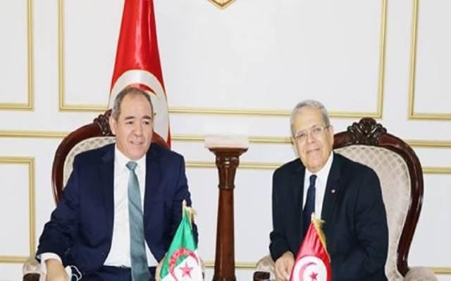 وزيرا خارجية تونس والجزائر