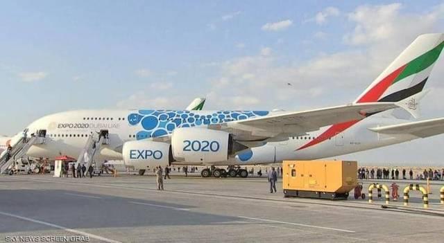 جانب من فعاليات معرض دبي للطيران