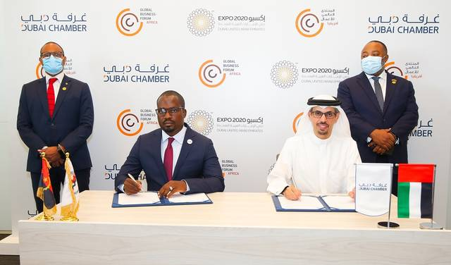 The agreement aims to develop business relations between the parties