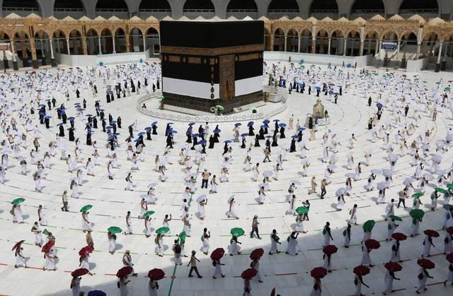 قوات أمن الحج تضبط 2050 مخالفاً لتعليمات الدخول للمشاعر المقدسة