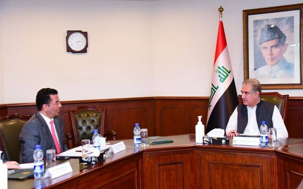 Iraq and Pakistan discuss strengthening cooperation in various fields 1024