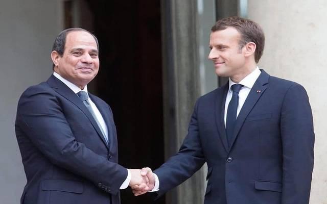 الرئيس السيسي خلال لقاء سابق مع نظيره الفرنسي