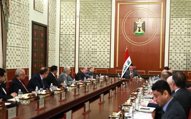 اجتماع مجلس الوزراء العراقي برئاسة عادل عبدالمهدي رئيس الحكومة