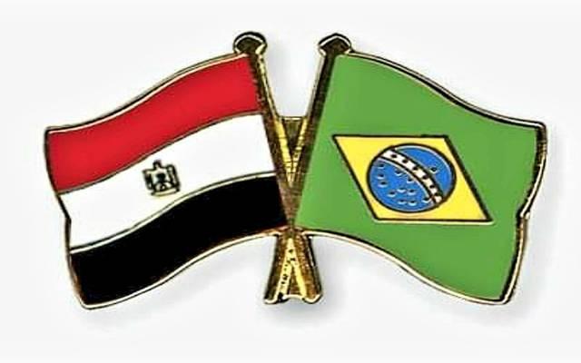علم مصر وعلم البرازيل