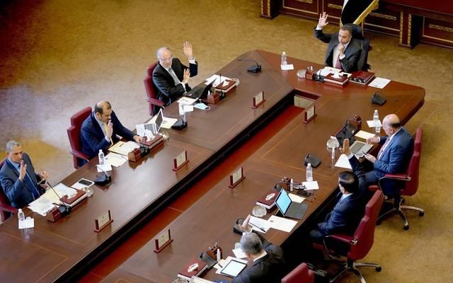 جانب من اجتماع محلس الوزراء العراقي