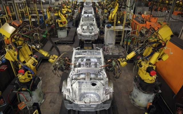 UK industrial output falls 1.1% in Q4