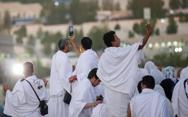 تجمعات للحجاج في السعودية