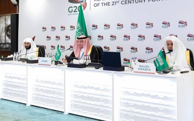 جانب من الاجتماع الوزاري الأول لمجموعة عمل مكافحة الفساد في دول مجموعة العشرين
