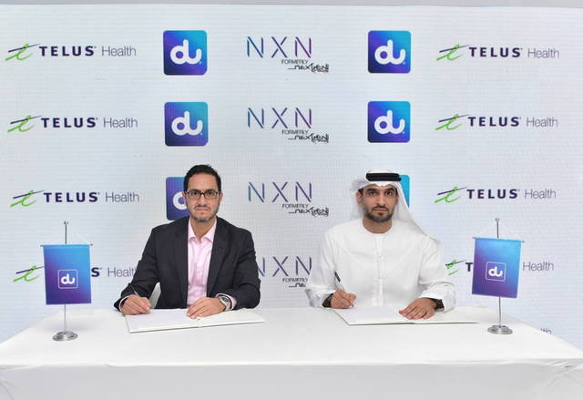 du will work jointly with TELUS Health and NXN to optimise the UAE's healthcare system