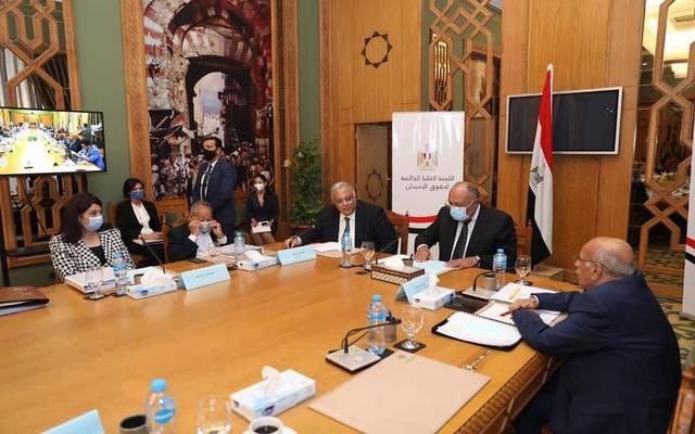 وزير الخارجية المصري يشهد إعداد أول استراتيجية وطنية لحقوق الإنسان