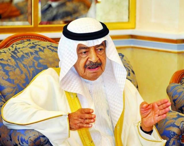 رئيس وزراء مملكة البحرين الأمير خليفة بن سلمان آل خليفة