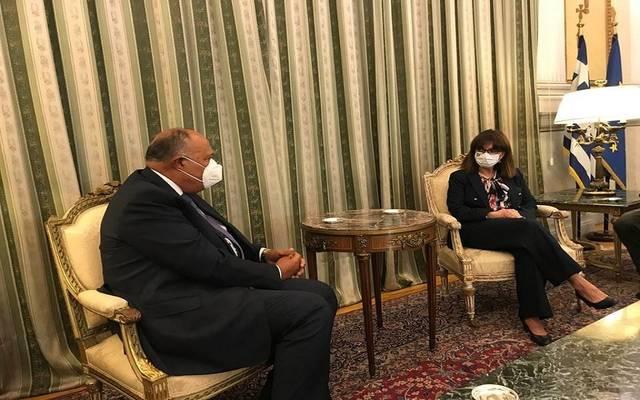 رئيسة اليونان: دور مصر الإقليمي دعامة للاستقرار في المنطقة