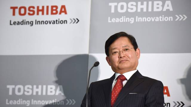 Toshiba's CEO to add title of president in April 2020