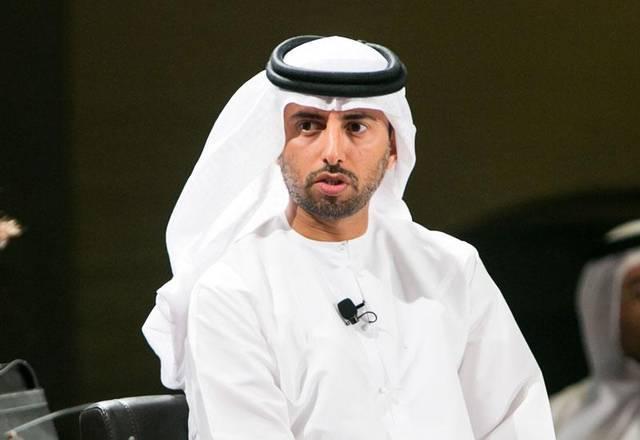 صورة أرشيفية لسهيل المزروعي وزير الطاقة الإماراتي