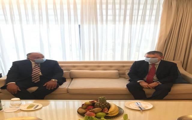 """وزير الخارجية المصري يشيد بدور """"الأونروا"""" لتخفيف معاناة اللاجئين الفلسطينيين"""