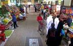 أحد الأسواق الشهيرة في الكويت